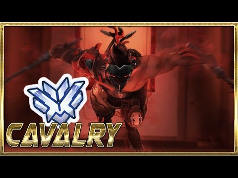 Cavalry Best Genji Moments  - Overwatch Montage