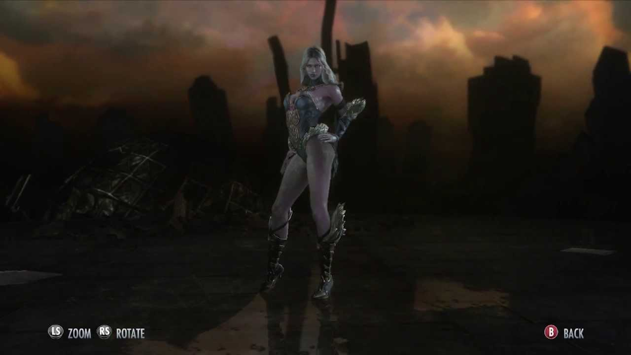 Injustice Gods Among Us All Female Costumes And Character ...
