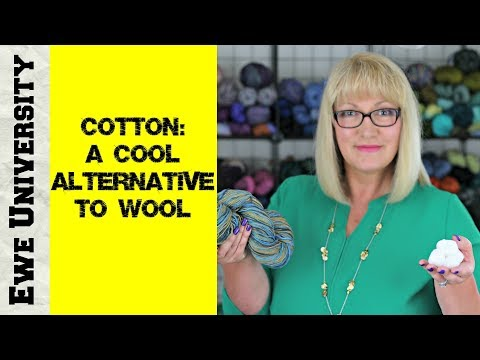COTTON: A COOL ALTERNATIVE TO WOOL
