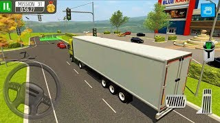 Delivery Truck Driver Simulator #6 Refrigerator Truck - Android Gameplay FHD