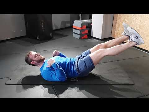 Tutorial Fitness 1 Min - Plank supino (Barchetta) thumbnail
