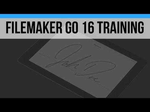 FileMaker Go 16 Video Training