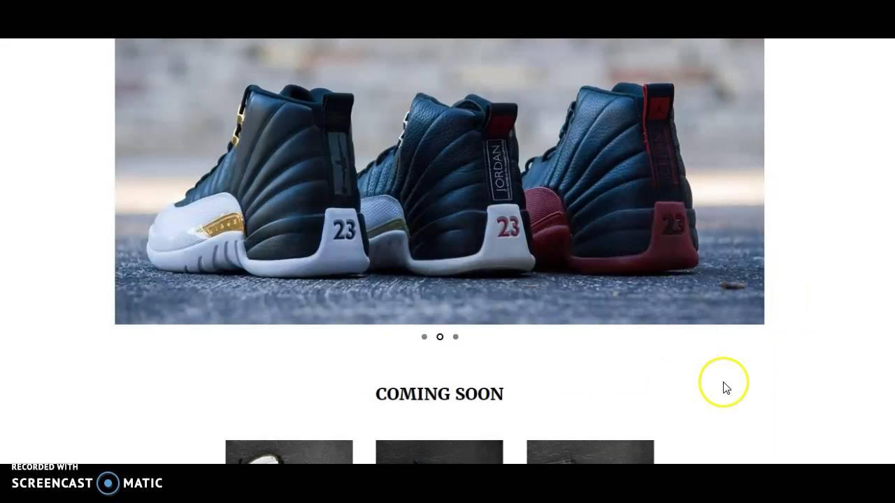 d59788516831 Authentic Wholesale Jordan Sneakers Website - YouTube