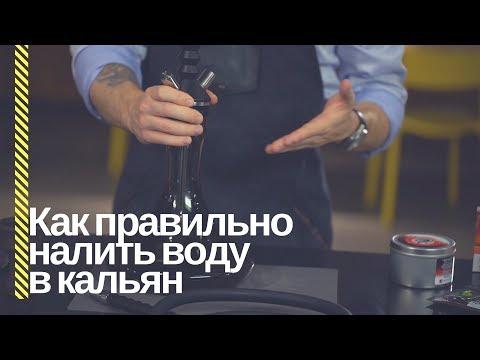 HSO - Сколько нужно лить воды в кальян?