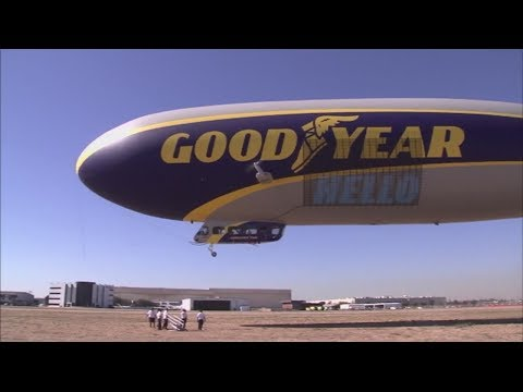 New and improved Goodyear Blimp returns to SoCal