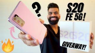 Samsung Galaxy S20 FE 5G Unboxing & First Look-최고의 삼성 경험 !!! 🔥🔥🔥