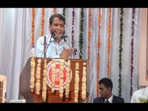 Suresh Prabhakar Prabhu/MR speech during Foundation Day function at NAIR on 31.01.2015