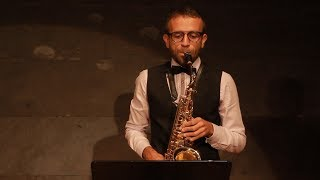 Astor Piazzolla Tango Etude No. 3 for saxophone, David Hernando Vitores