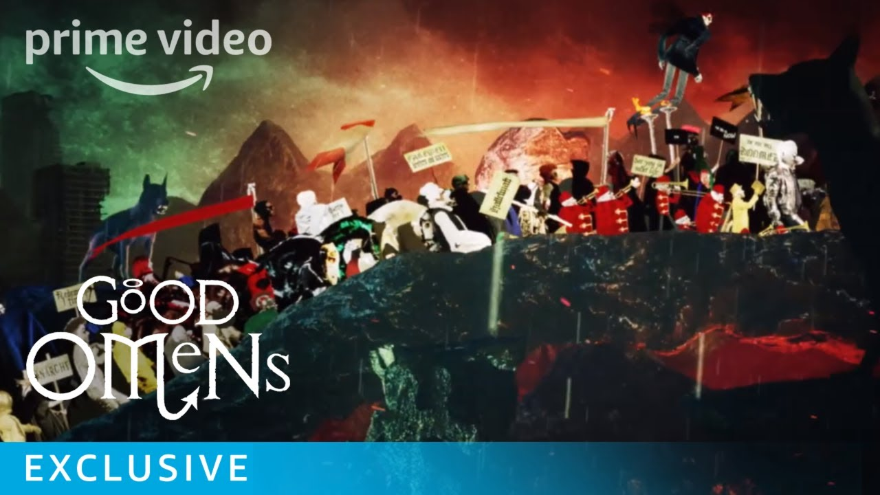 Good Omens - Series Date Announcement | Prime Video