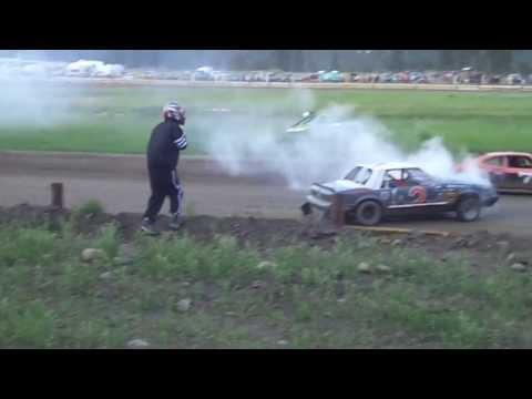 Eagle Track Raceway Fever 4 Main Event Part 3 (Devon Johnson Fire) July 6th 2013
