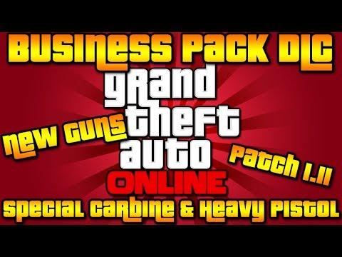 "GTA V Online: *New ""Heavy Pistol"" & ""Special Carbine"" Guns!* | Business Pack DLC | Patch 1.11"