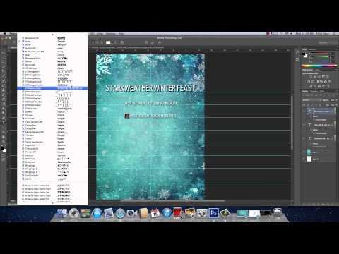 Photoshop CS6 Creating A Flyer YouTube