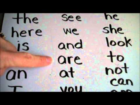 Learn to Read: Sight Words