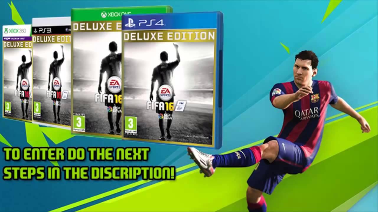 Fifa 16 [deluxe edition].