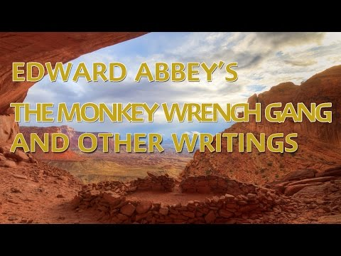 Edward Abbey's The Monkey Wrench Gang & other writings.