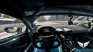 Lamborghini Huracan Super Trofeo EVO, onboard, Monza Tests, driver Timur Boguslavskiy