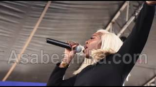 Tiwa Savage dazzles million fans @ Access Bank Lagos Marathon 2018