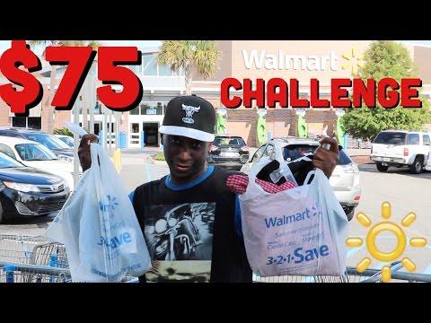 $75 Dollar Walmart Challenge Accepted Under $30 Dollars
