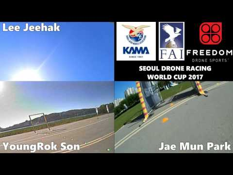 The Final Race - Seoul Drone Racing World Cup 2017