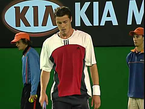 ATP 2004 Austrlain Open QF Roddick vs Safin