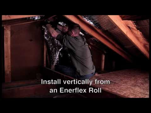 Reduce energy cost with easy to install radiant foil barrier - EnerflexFoil.com