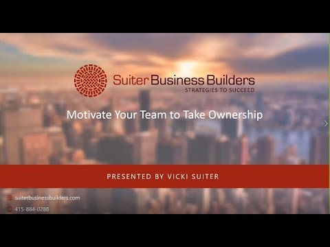 How to Motivate Your Team to Take Ownership
