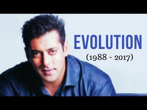 Salman Khan Evolution (1988 - 2017)