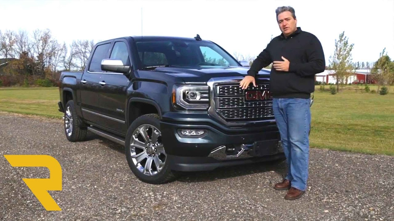 2017 GMC Sierra Denali 1500 Overview   YouTube