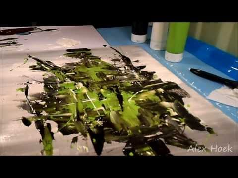 Modern Abstract Art - Speed Painting