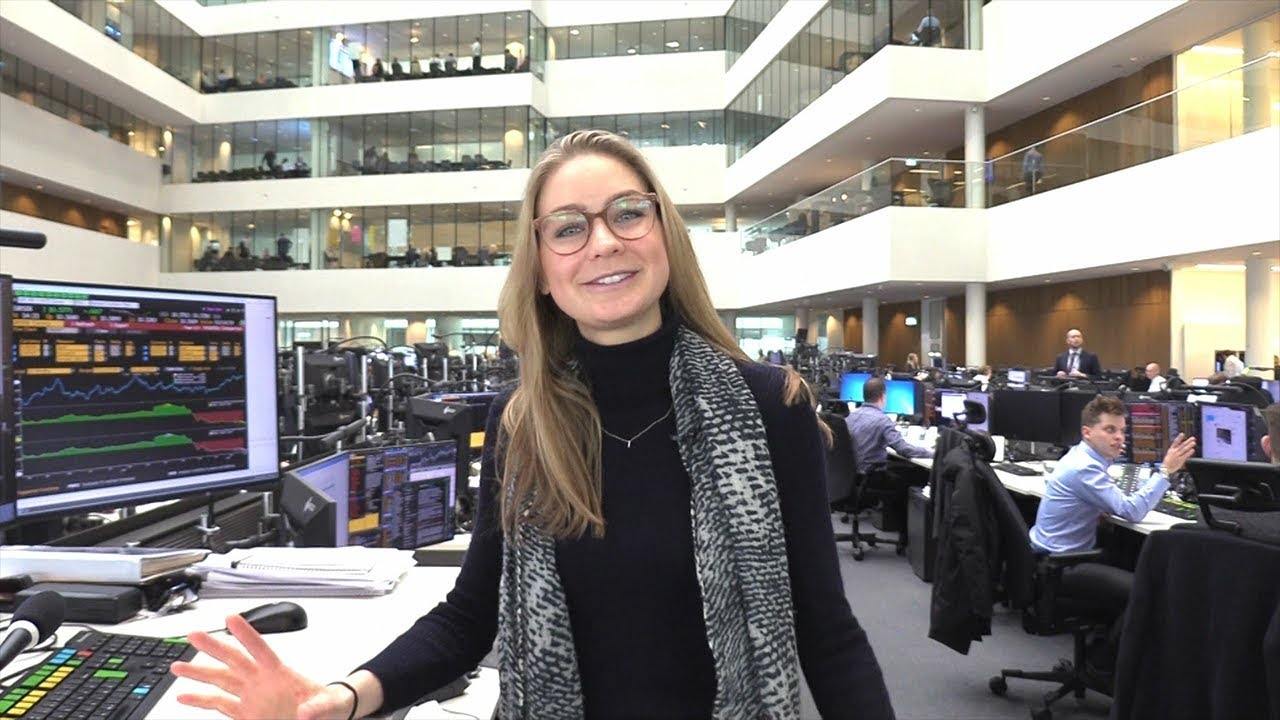 Join Caroline at the trading floor