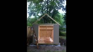 Building A Pre-fab Shed