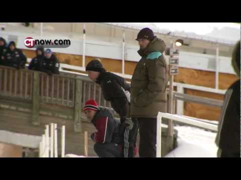 USA Luger rider Emily Sweeney and her parents explain sliding and watching the sport.