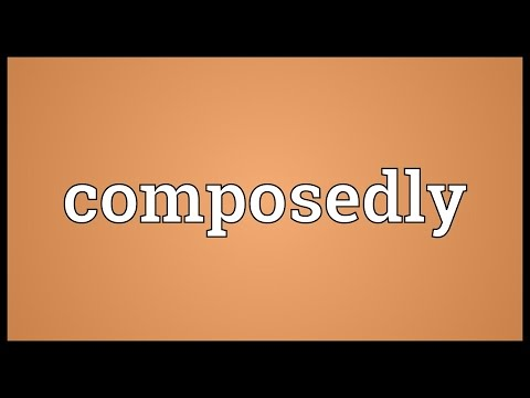 Header of composedly