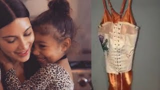 Kim Kardashian Defends North's Corset Inspired Dress