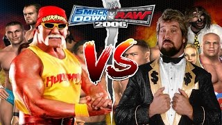WWE Smackdown vs Raw 2006 Hulk Hogan 80s vs Ted Dibiase