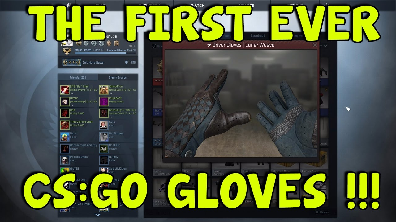 Best driving gloves ever - Cs Go First Ever Set Of Gloves