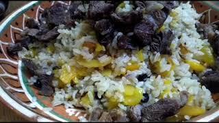 Плов узбекский плов хорезмский pilaf Как приготовить плов Простые рецепты cooking