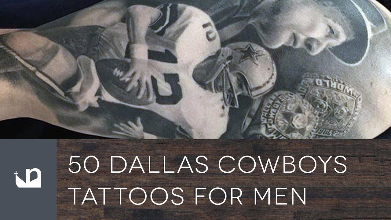 50 Dallas Cowboys Tattoos For Men Youtube