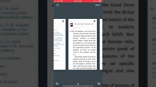 passageguide in logos bible with voiceover on IOS.