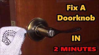 How To Tighten Door Handles With Hidden Screws Kwikset Schlage