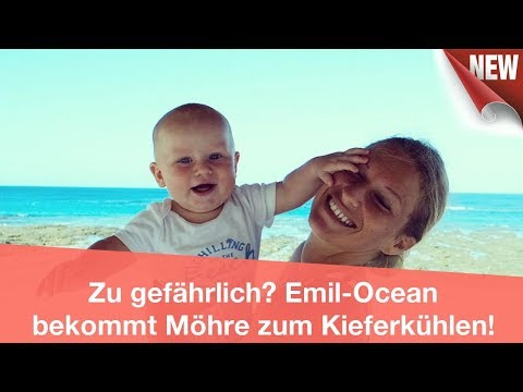 Zu gefährlich? Emil-Ocean bekommt Möhre zum Kieferkühlen! | CELEBRITIES und GOSSIP