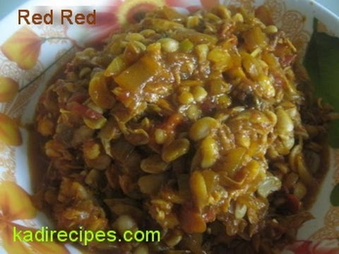 Beans stew red red ghanaian food youtube forumfinder Gallery