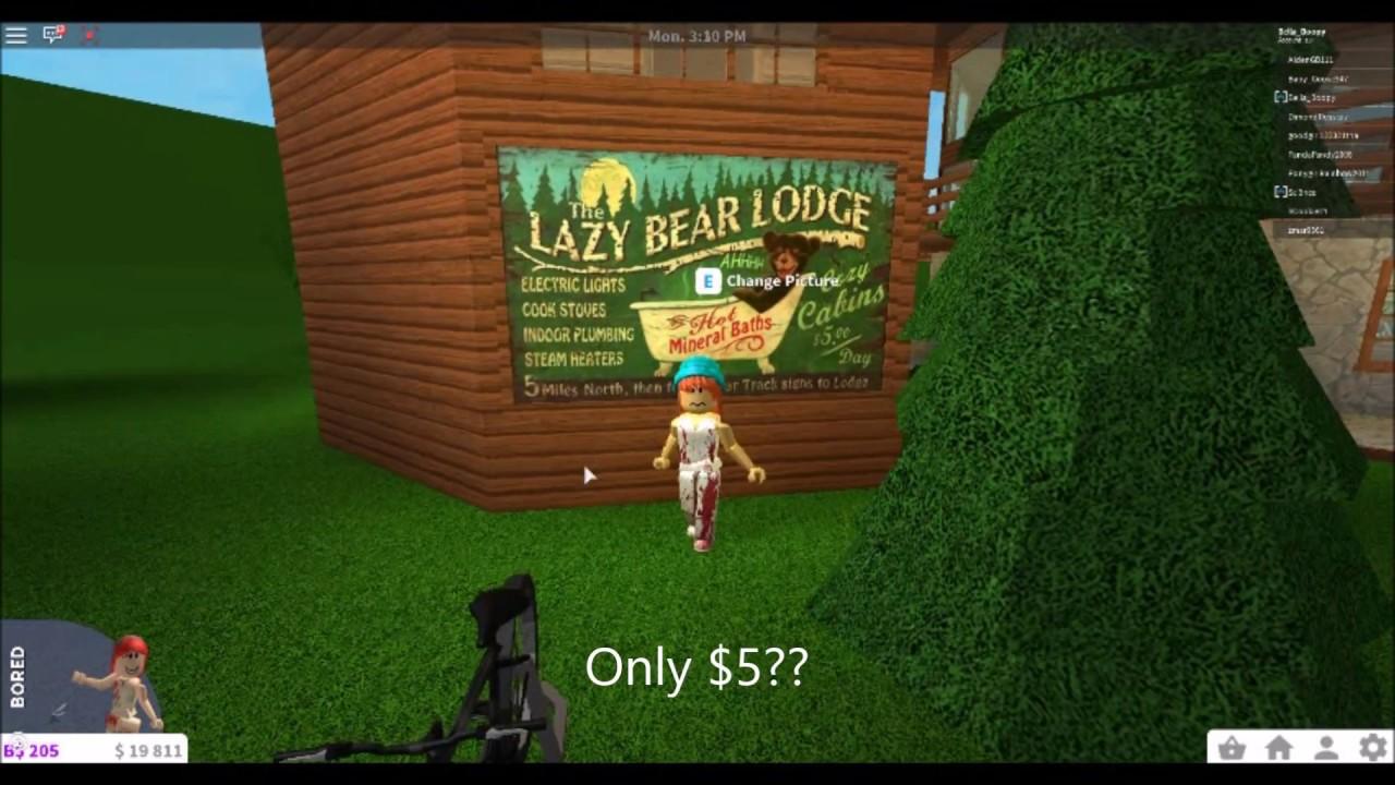 Roblox Welcome To Bloxburg Lodge Cabin Rentals Youtube