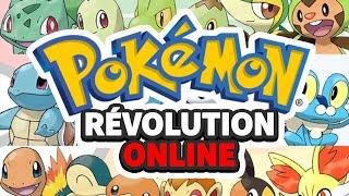 LE MEILLEUR MMO POKÉMON !! Pokémon Révolution Online