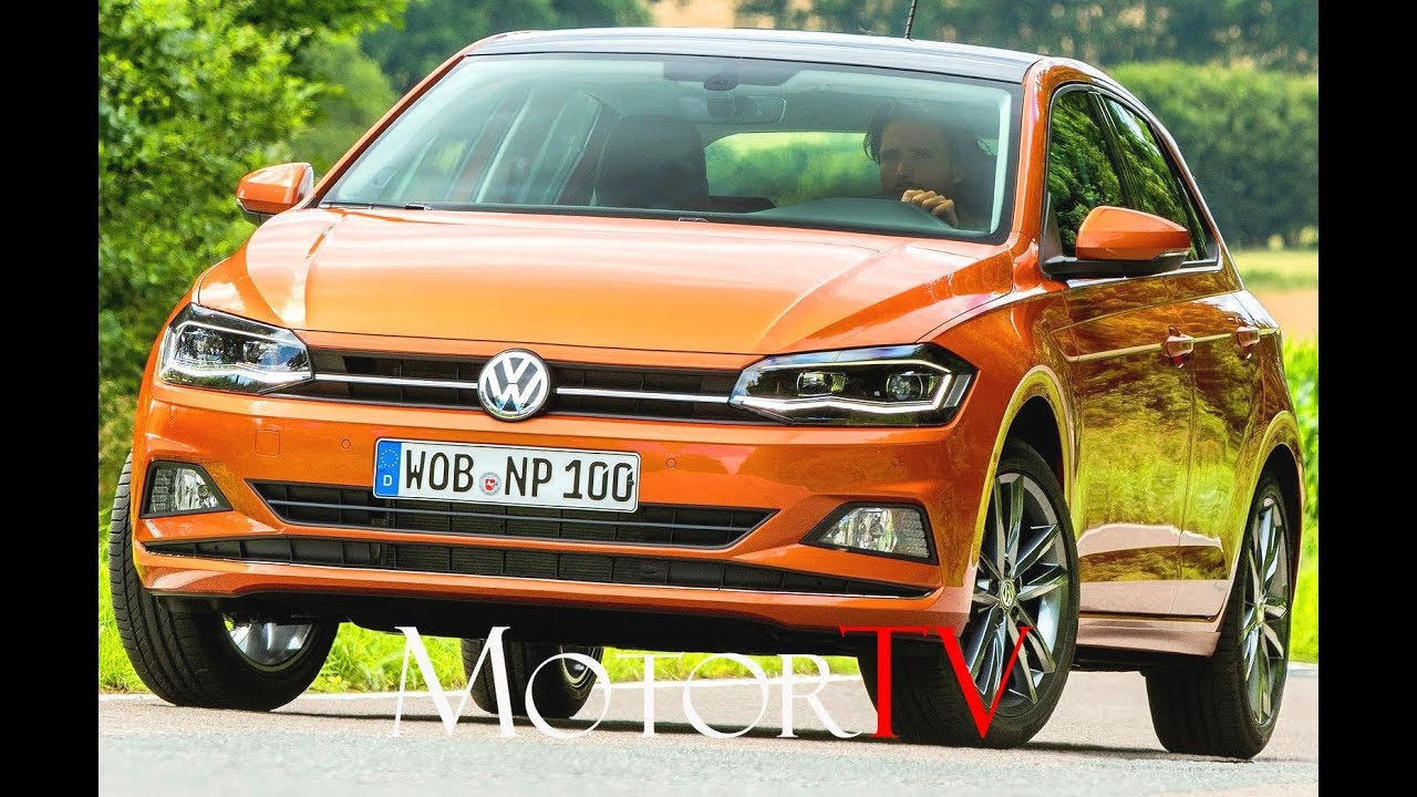 test drive 2018 volkswagen polo 1 0 tsi 95 ps ger youtube. Black Bedroom Furniture Sets. Home Design Ideas