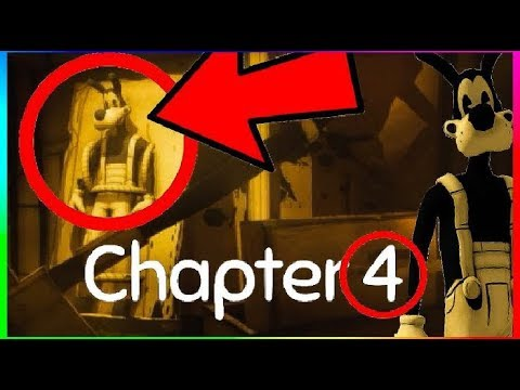 INSANE BENDY AND THE INK MACHINE CHAPTER 4 SECRET GAMEPLAY ...