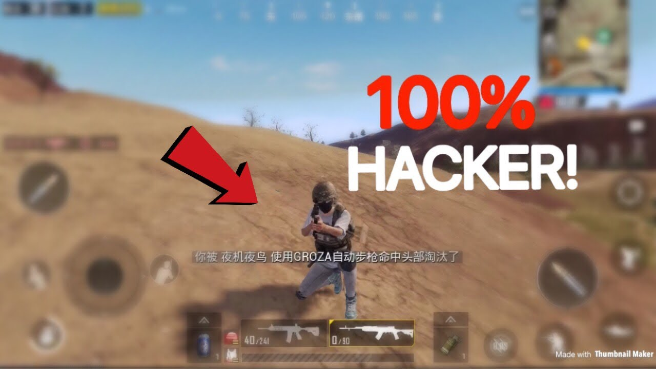 This Cheater Has Unlimited Health Pubg Mobile Lightspeed  Hacker Youtube