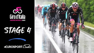 Giro d'Italia 2021 - Stage 4 Highlights | Cycling | Eurosport