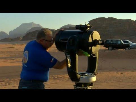 شاهد: تلسكوب متطور جديد في الأردن يمكن من الإستمتع برؤية الكواكب والنجوم…  - 20:54-2019 / 8 / 16
