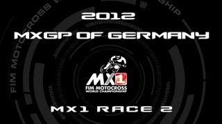 2012 MXGP of Germany - FULL MX1 Race 2 - Motocross